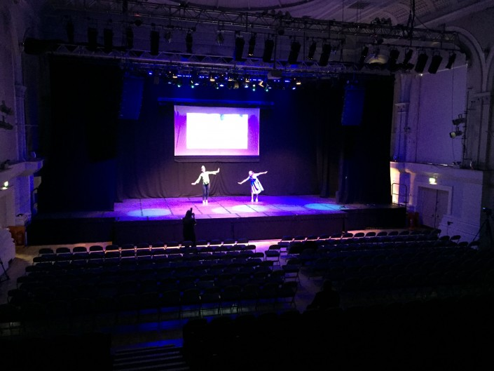Dance Show Filming - Bedford