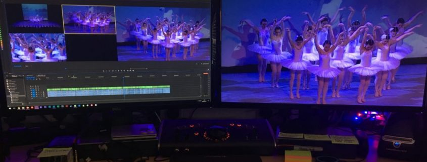 Dance Show Filming